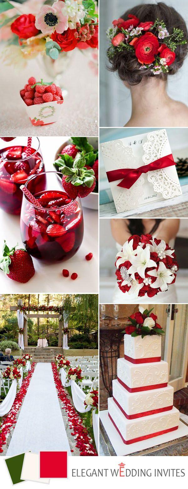 320 best Red Weddings images on Pinterest | Red wedding, Wedding ...