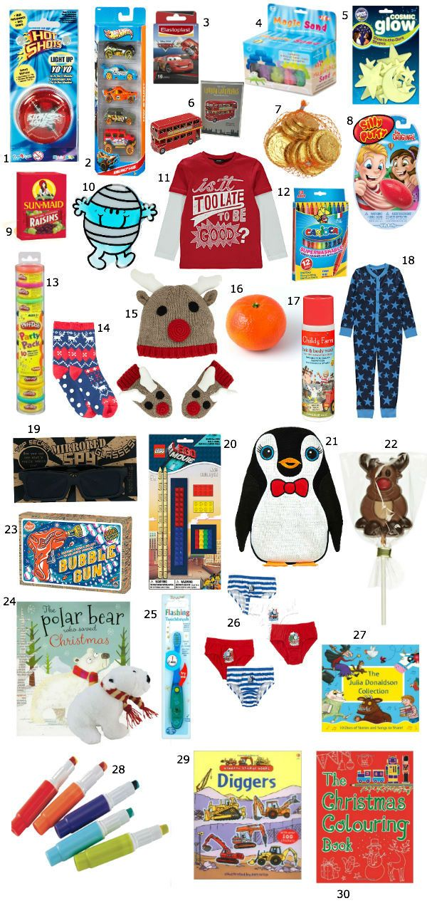 Stocking Fillers ideas for little boys (Christmas 2014)