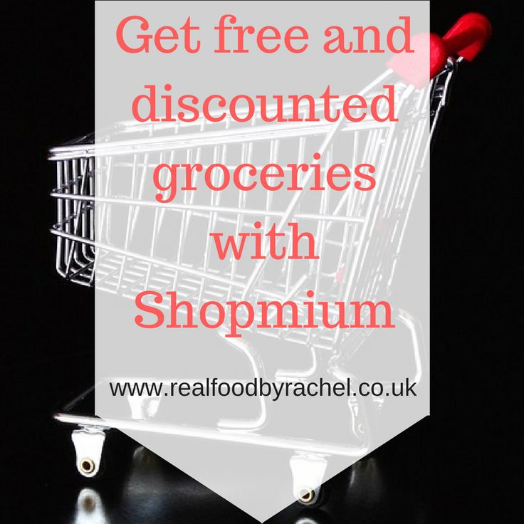 Get free and discounted groceries with Shopmium