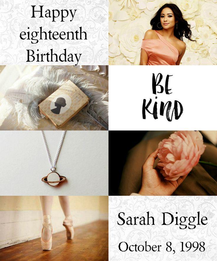 Harry Potter the Next Generation (Birthday): Sarah Lyla Diggle • October 8, 1998 • Gryffindor • Shay Mitchell