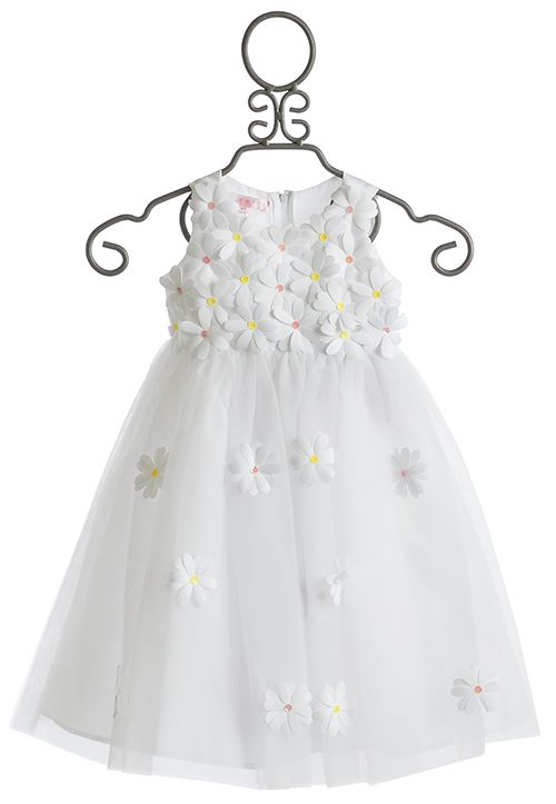 Biscotti Crazy for Daisies Tulle Girls Dress $78.00