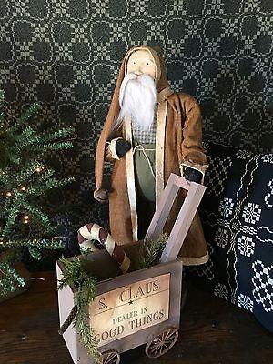 Arnett Santa With Cart #24