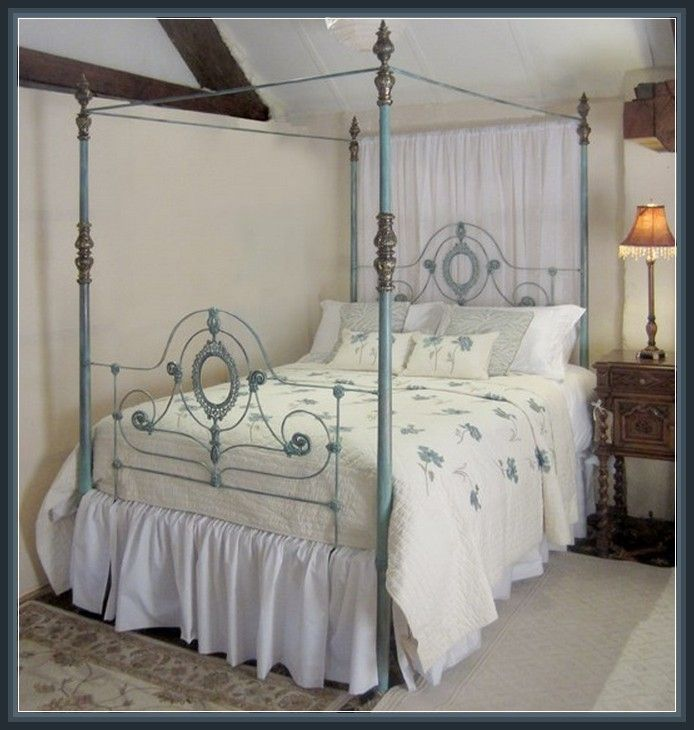 10 best Seventh Heaven Iron Four Poster Beds images on ...
