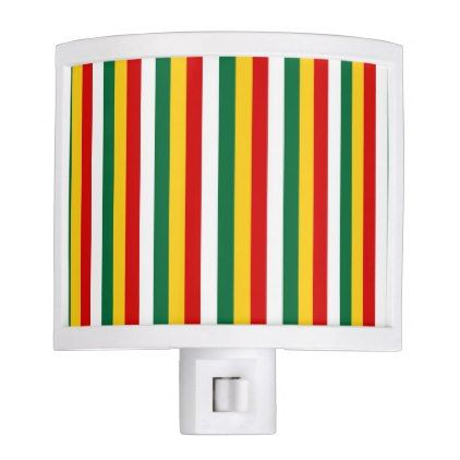 Suriname flag stripes lines pattern night light - stripes gifts cyo unique style