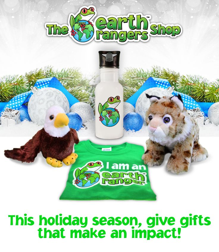 Purchase directly from The Earth Rangers Shop & help support environmental education programs for children.
