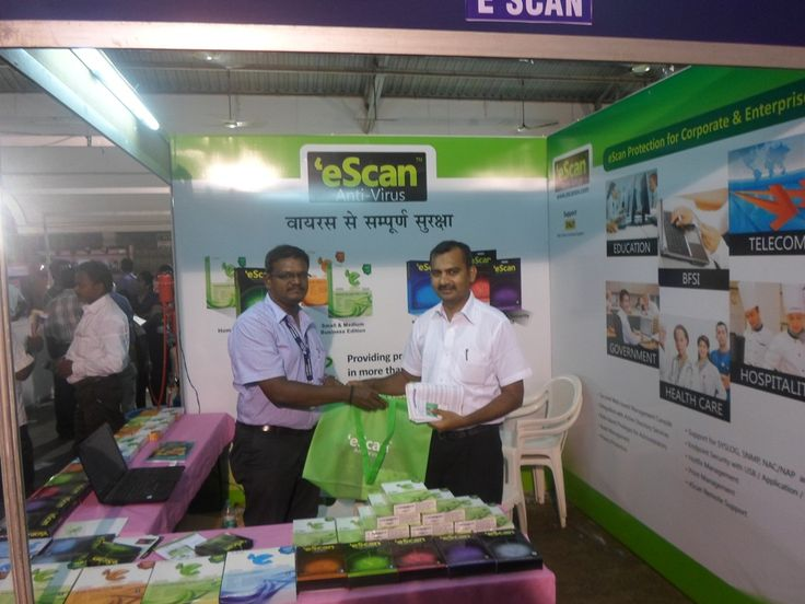 eScan @ EdITA Computer Exhibition – 2013  - Tamil Nadu, #India