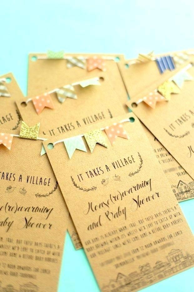 Idea Handmade Birthday Invitation Cards Ideas And Beautiful Homemade