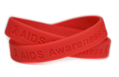 HIV-AIDS Awareness Bracelets To Show Your Support - Lets aware about the cause and precautions.