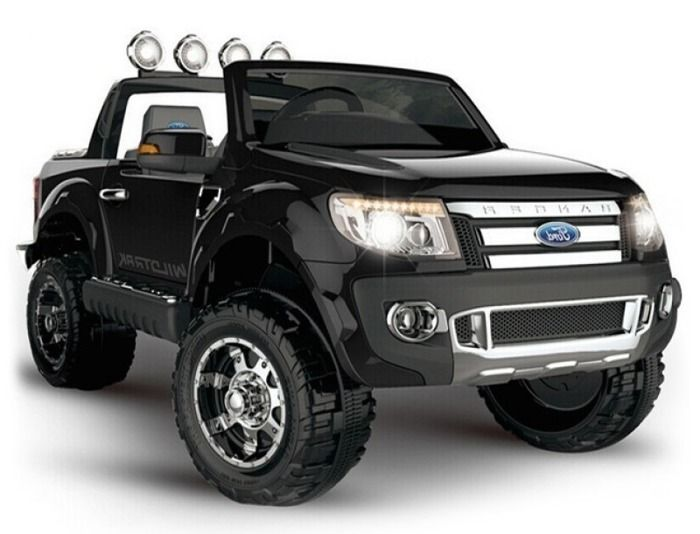 Novinky 2017!!! | elektrické autíčko Ford Ranger - čierny | Bábätkovo.eu