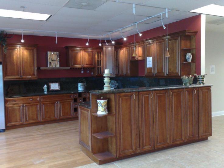 Burgundy Kitchen Paint Oak Kitchen Cabinets Home