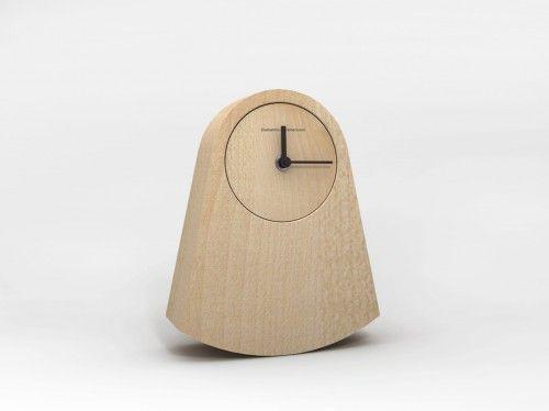 IPNO. Alessandro Zambelli (2013) wood. table clock