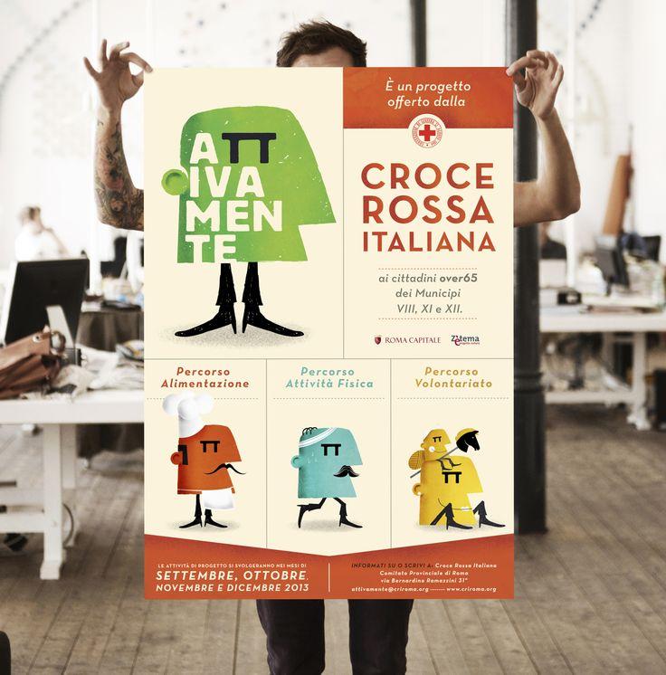 Croce Rossa Italiana | Attivamente on Behance