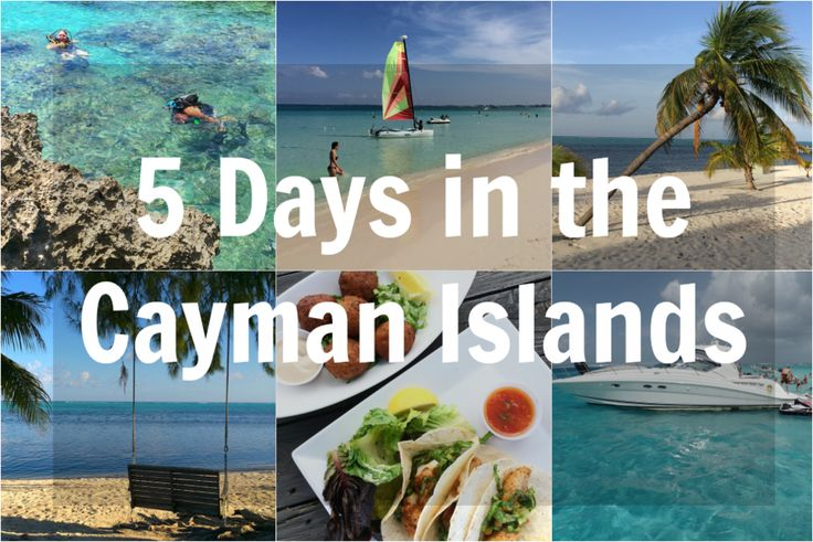 5 Day Travel Itinerary for Grand Cayman Islands
