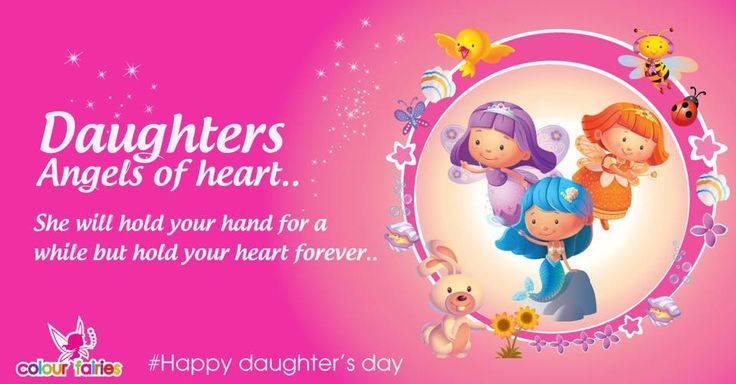 Happy Daughter's Day to all the Princesses!