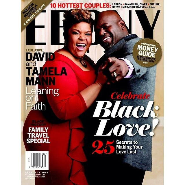 [EBONY COVER] Tamela and David Mann speaks on how they maintain passion in their relationship in our February issue. #Ebonymagazine