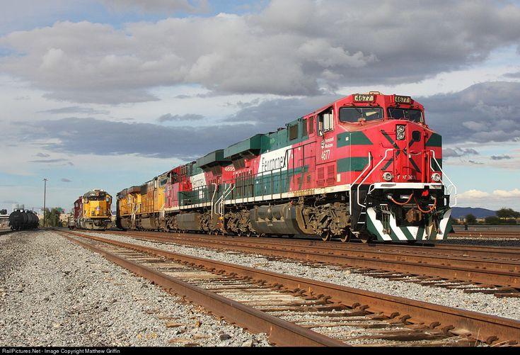 RailPictures.Net Photo: FXE 4677 Ferromex GE ES44AC at Yuma, Arizona by Matthew Griffin