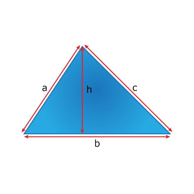 Learn the Perimeter and Surface Area Formulas for Different Shapes: Triangle Perimeter and Surface Area Formulas