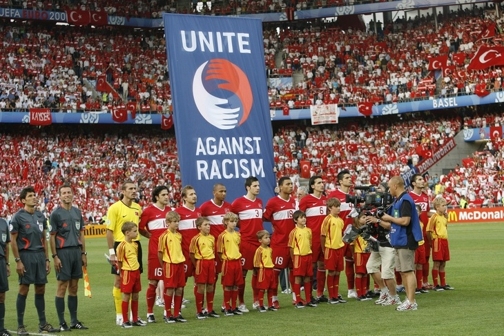 Big Idea: Hublot watches gives its signage from sponsoring UEFA's Euro 2008 to United Against Racism