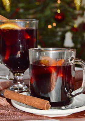 Citromhab: Fűszeres forralt bor