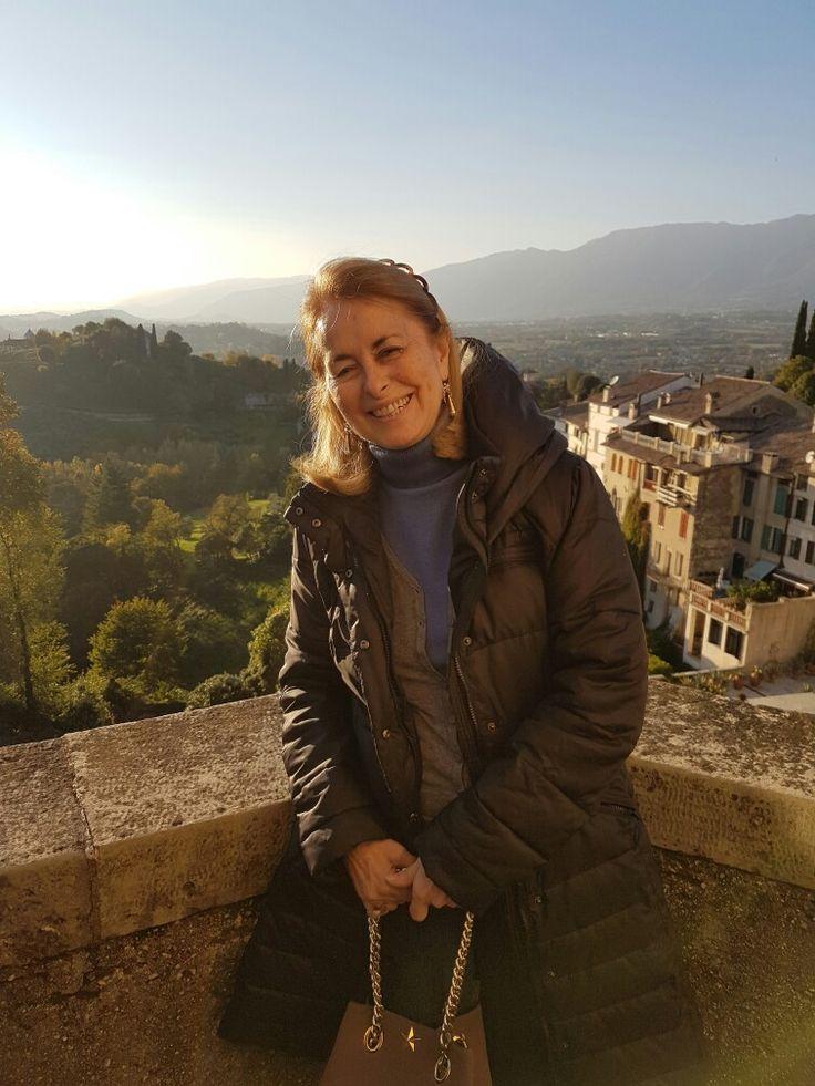 Mamma Gabriela ad Asolo in Veneto.bella? Di piuuuuuuuu