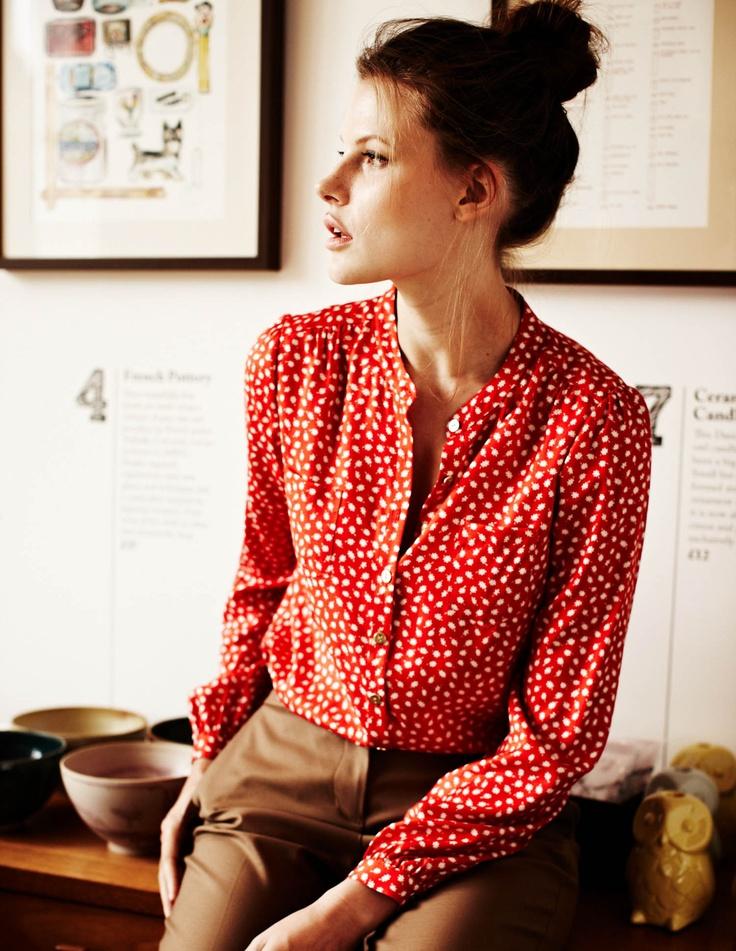 love this blouse! looks so teachery!