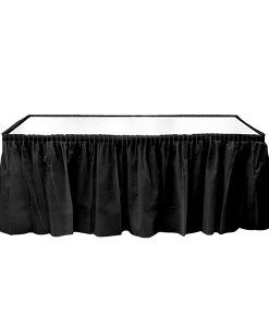 Plastik Masa Eteği Siyah Renkli