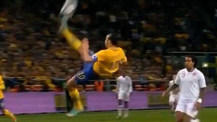 14. November 2012: Im 915. Länderspiel erleidet die stolze englische Fussball-Nation eine herbe Niederlage, für die einzig und allein ein Mann zuständig ist: Zlatan Ibrahimovic. Der schwedische Stürmer erzielt beim 4:2-Erfolg gleich alle vier Treffer. Ein Tor geht dabei in die Geschichte ein.