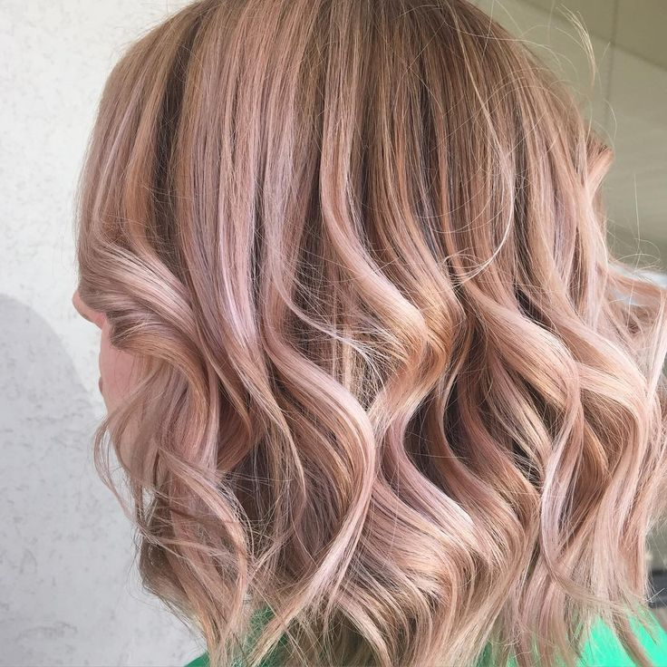 Dusty Rose Balayage ️ Hair Face Amp Beauty