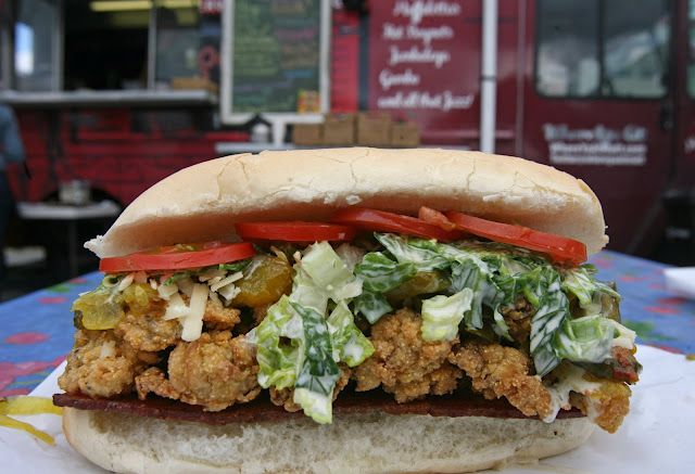 More tasty po' boys coming to Seattle!Foodtruck Seattle, Po Boys, Oysters Poboy, Food Truck