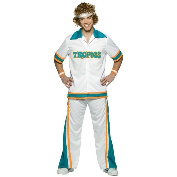 Jackie Moon Costume Great condition. Worn once. Includes shirt, pants, head band, wrist bands, and wig. Other
