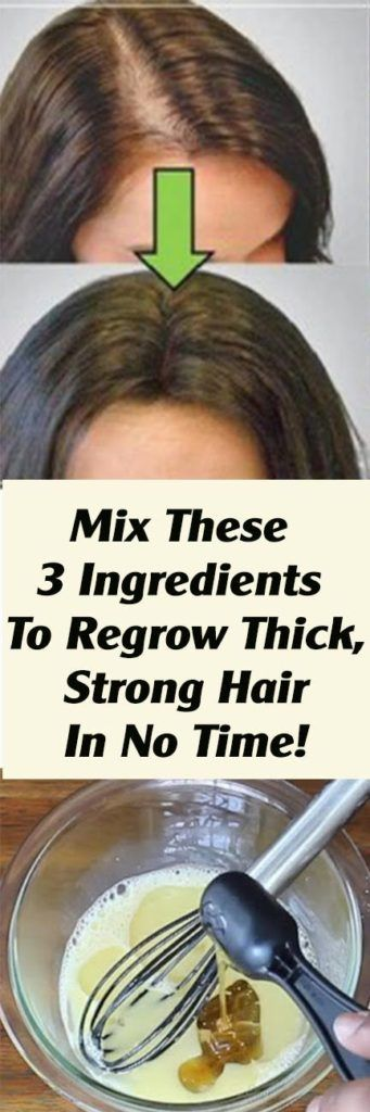 Mix These 3 Ingredients To Regrow Thick, Strong Ha…