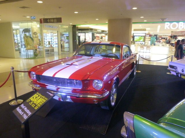 Here is a flash from the past Mustang