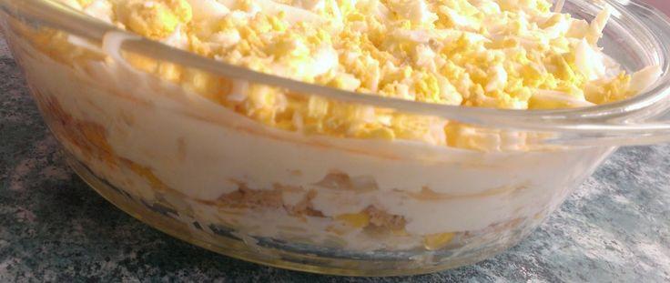 Kuchcik gotuje: Sałatka z tuńczyka - http://przepisy-kulinarne-kuchcika.blogspot.com/