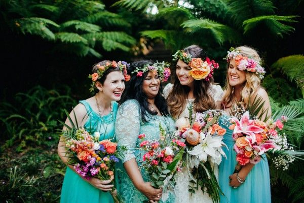 Botanical and Baby Blue San Francisco Wedding at Golden Gate Park