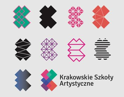 Corporate Identity System for Cracow School of Art and Fashion Design