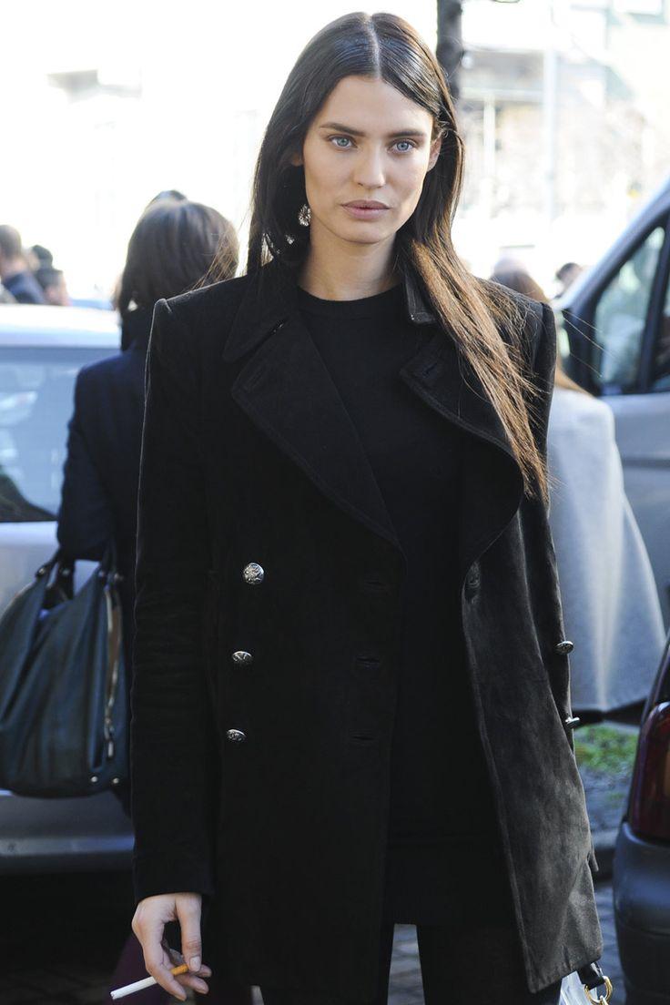 Models Off Duty: Blazers Bianca Balti