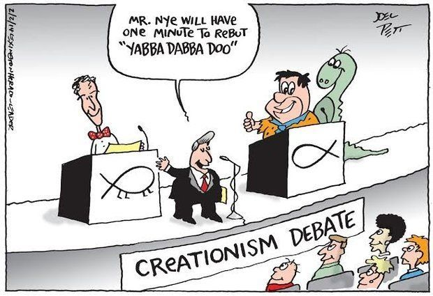 Ken Ham and Bill Nye: Who is on the Bible's Side?