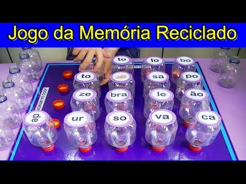 JOGO DA MEMÓRIA SILÁBICO RECICLADO - YouTube