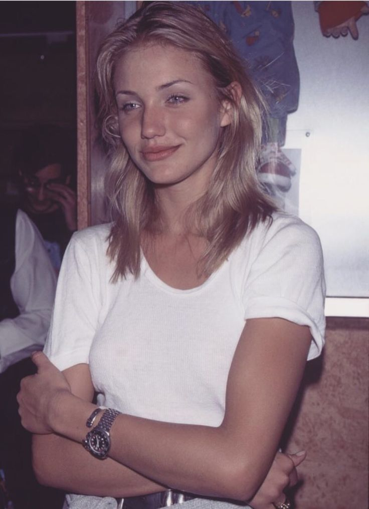 Hair blonde cameron diaz