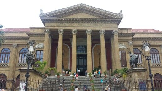 Teatro Massimo #palermo #sicilia #teatro #ilpadrino