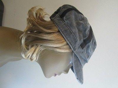 "#Grey X-Band Cadet  Hair Length: 6"" Wavy Hair Color: Dark Blonde High quality Kenakalon fiber."