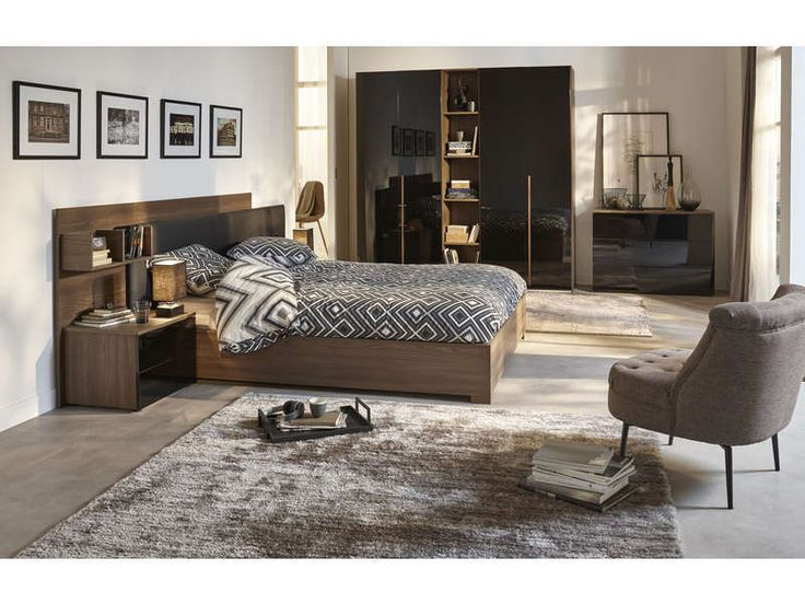 les 25 meilleures id es de la cat gorie lit coffre 160 sur pinterest. Black Bedroom Furniture Sets. Home Design Ideas