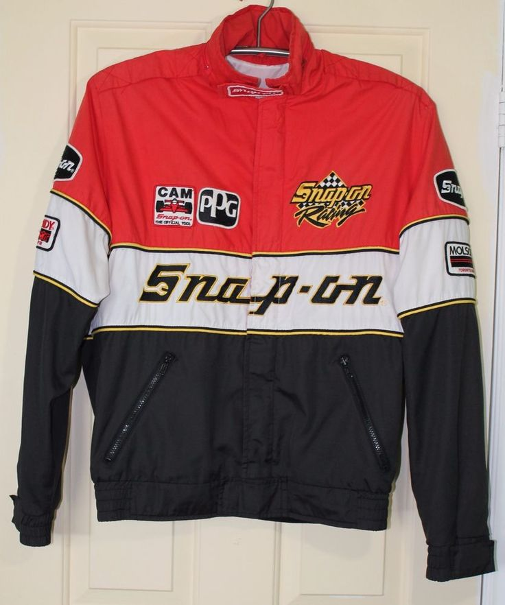 Snap On Tools Vintage Mens Jacket 1992 Molson Indy Vancouver Toronto Size Large #AstroSportswear
