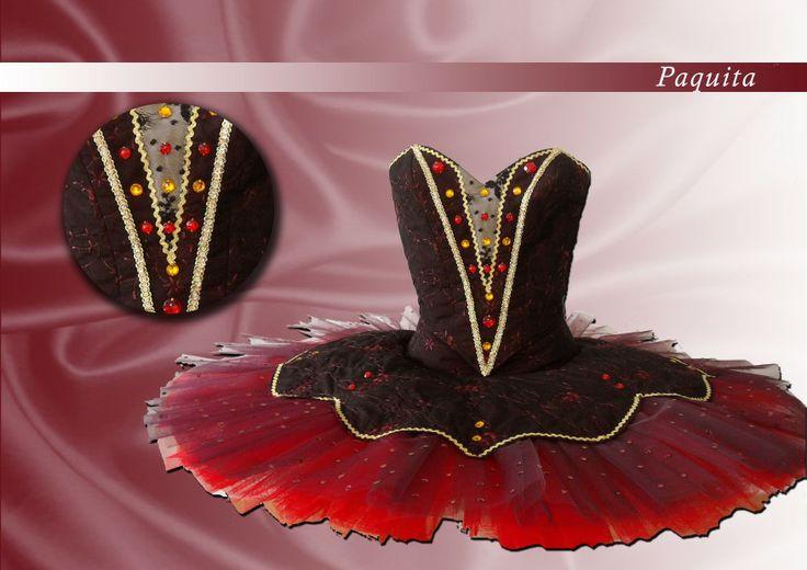 Ballet costume for Paquita