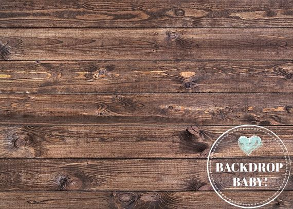 Simple Brown Wood Floordrop, Photography Backdrop & Floordrop, Vinyl Backdrop, PolyPro Backdrop, Canvas Backdrop, Glare Free