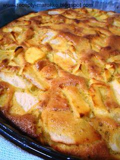 Марокканская кухня: Очень быстрый яблочный пирог