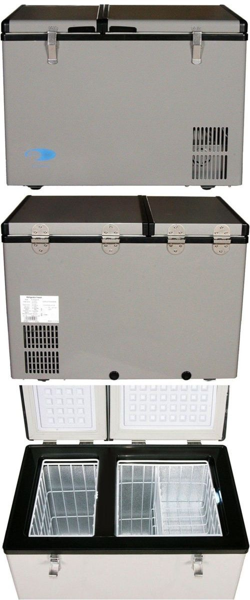 Upright and Chest Freezers 71260: Whynter 2 Cu.F 62 Qt Dual Zone Portable Freezer In Gray 12V Led Party Camping Rv -> BUY IT NOW ONLY: $916.65 on eBay!