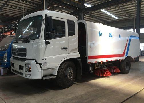 8000Liters road sweeper truck street cleaning truck-road sweeper truck