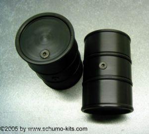 Schumo 200 litre fuel drum Deutsche Wehrmacht 1/16 scale (unpainted)