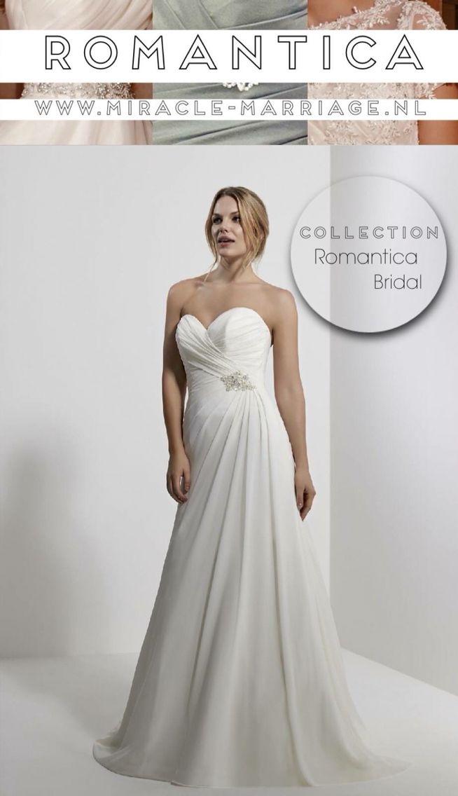 #miracleontwerpers Romantica Bridal #trouwen #romantica